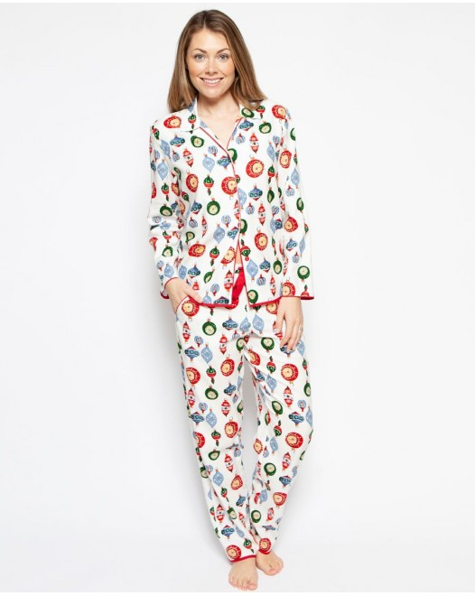 Пижама женская Cyberjammies Belle 4258/4259 Bauble Print